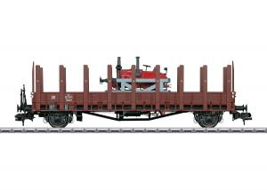 Märklin 58482 Stolpvagn (DRG) type Rmm Ulm med  Lanz traktor