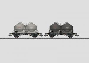 58624 Vagnset med 2 Silovagnar Typ Kds 54 DB