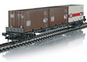 Märklin 58710 Containervagn Type Sgjs 716 Multi-Use Nyhet 2021 Förboka ditt exemplar