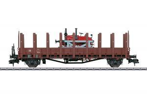 """Märklin 58818 Stolpvagn (DRG) type Rmm """"Ulm"""" med Lanz traktor"""