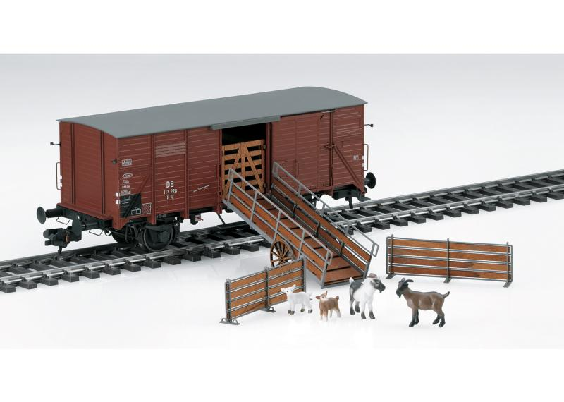Märklin 58945 Godsvagn (DB) type G 10 Nyhet 2020 Förboka ditt exemplar