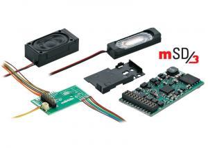 60977 mSD3 SoundDecoder Ljuddekoder för ellok