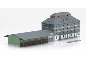 "Trix Minitrix 66324 Byggsats "" Raiffeisen Warehouse with Market """