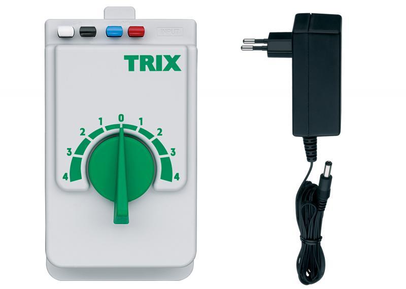 Trix / Minitrix 66508 Analog vridtransformator 230V 18W DC