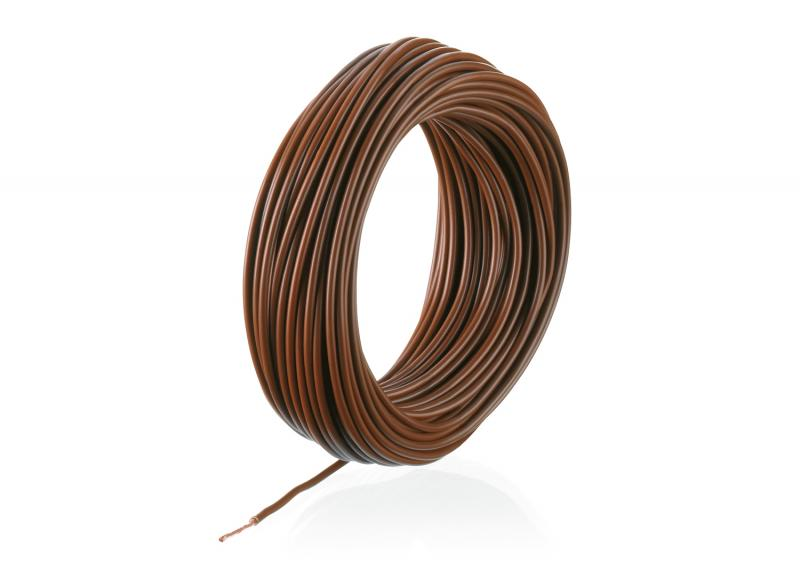 7102 Kabel Brun 0,19mm 10m