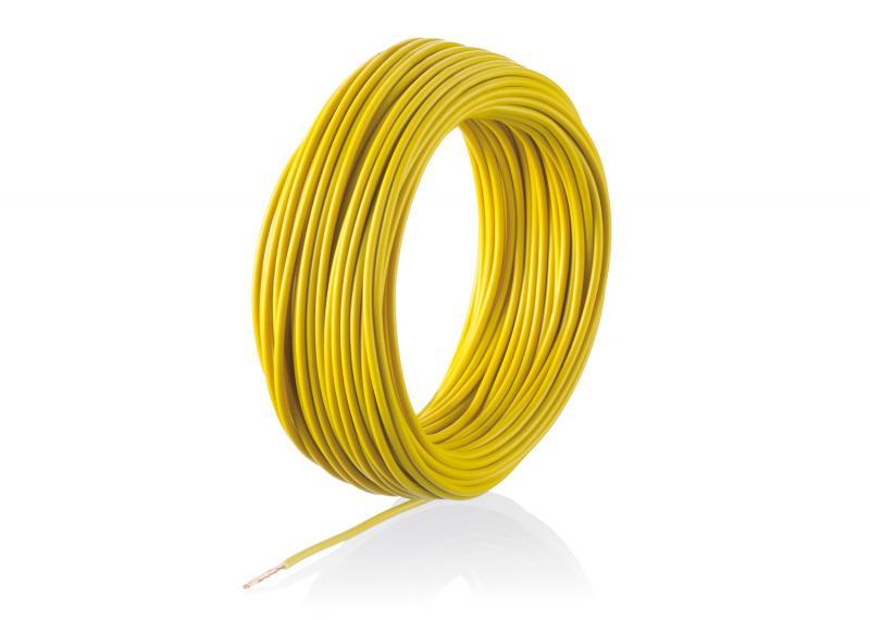 7103 Kabel Gul 0,19mm 10m