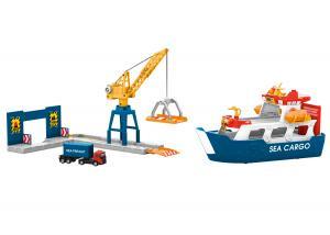 Märklin 72223 Märklin my world – Freight Ship and Harbor Crane Nyhet 2021 Förboka ditt exemplar