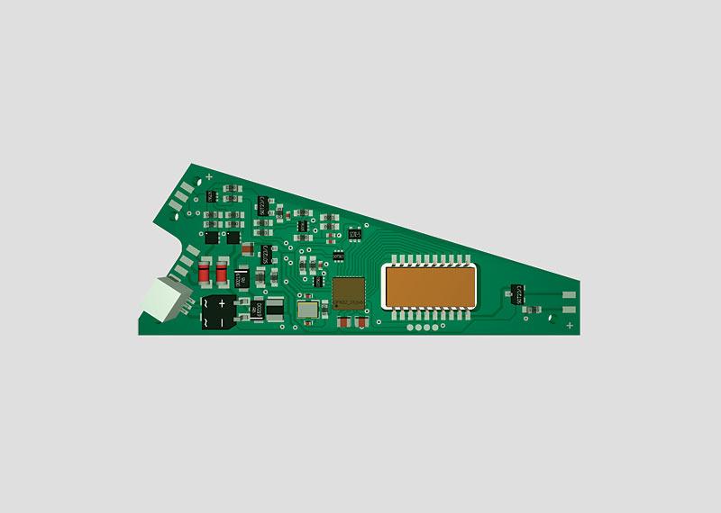 74461 Växel dekoder för inbyggnad i C-räls