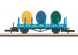 """Märklin 80421 Påskvagn 2021 """" Easter Car for Z Gauge """" Nyhet 2021 Förboka ditt exemplar"""