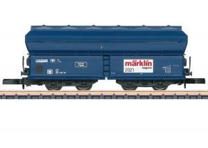 Märklin 80831 Märklin Magazin Z Vagn DB Type Tad-u 961 Sommarnyhet 2021