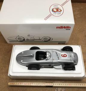Märklin 81102 Samlarbil Reproduktion utav Mercedes W 196 . MHI 1994 inklusive certifikat