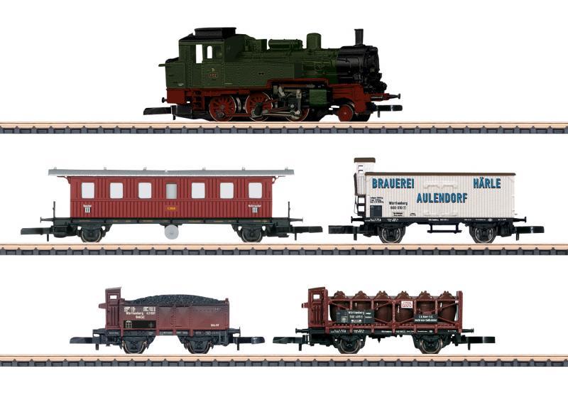 """Märklin 81390 Tågset """"175 Years of Railroading in Württemberg"""" Nyhet 2020 Förboka ditt exemplar"""