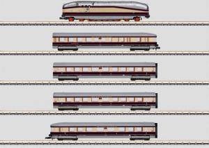"""81436 Tågset Srömlinjeformat BR 61 """"Henschel-Wegmann-Zug"""" Insider modell"""