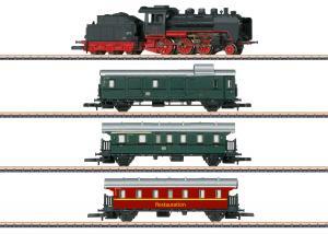 """Märklin 81874 Z Startkit """"Museum Passenger Train"""" med större bana Sommarnyhet 2021 Förboka ditt exemplar"""