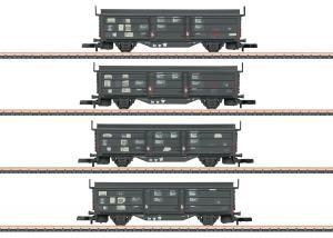 Märklin 82155 Godsvagnset (DB) type Tbis 871 ( Klmmgks 68 ) Nyhet 2021 Förboka ditt exemplar