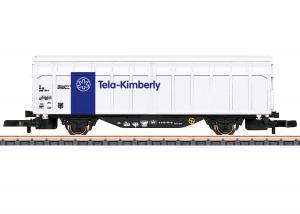 """Märklin 82385 Godsvagn Type Hbbins ( SBB ) """" Tela-Kimberly """" Nyhet 2021 Förboka ditt exemplar"""
