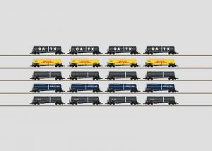 Märklin 82530 Freight Car Display with 20 Different Tank Cars OBS PRIS PER STYCK