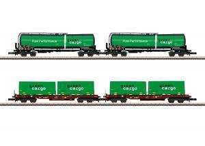 """Märklin 82533 Svenskt vagnset """"Green Cargo"""" Nyhet 2020"""