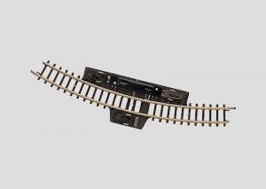 8529 Kopplingsskena böjd Radie 195 mm. 30°