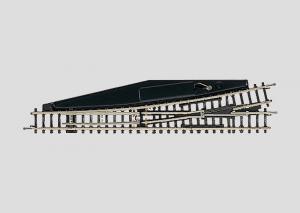 8565 Handväxel vänster Längd 110 mm 13°. Radie 490 mm