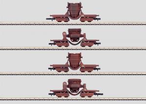 86210 Sats med 4 stålverksvagnar