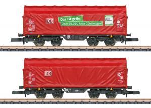 Märklin 86356 DB Godsvagnset type Shimmns-tu 718 Nyhet 2021