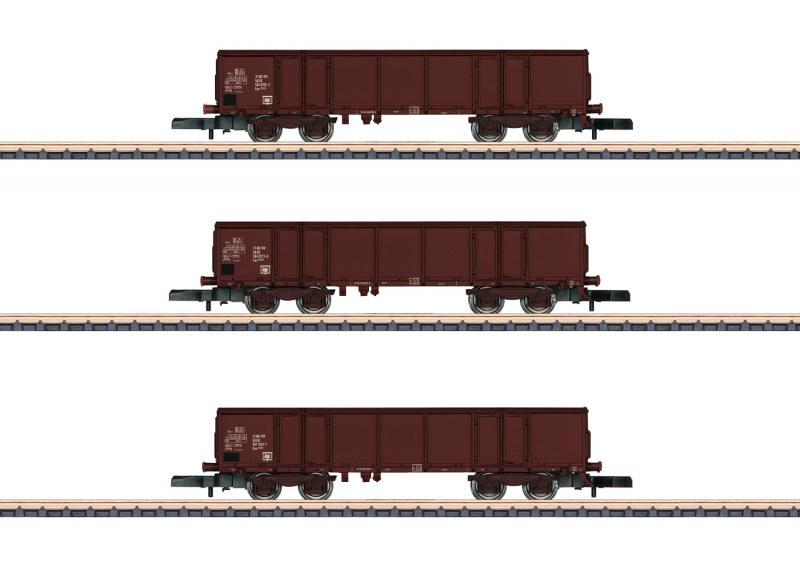 Märklin 86689 Godsvagnset (DR) type Eas 5949/5971 (DB Eaos) 4-axle gondolas (DR) Nyhet 2020 Förboka ditt exemplar