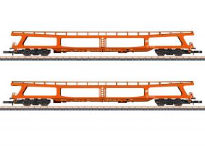 Märklin 87095 Vagsnet med 2st biltransportvagnar ( ÖBB ) type DDm 915 Nyhet 2021