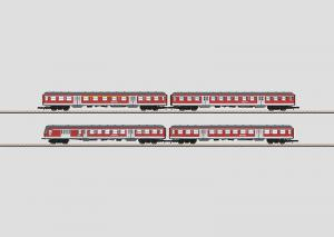 "87170 Personvagnsset 4 st vagnar ""DB Regio, Inc, Commuter"""