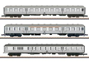 """Märklin 87189 Personvagnset ( DB ) """" Commuter Service """" """" Silberlinge """" / """" Silver Coins """" Sommarnyhet 2021 Förboka ditt exemplar"""