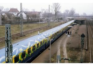 "87300 Vagnsset ""Touristikzug"" med 5 personvagnar till lok 88542"