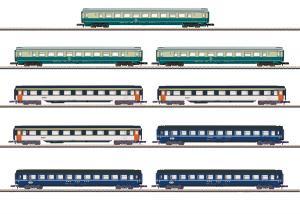 Märklin 87408 Vagnset Display med 9 vagnar Nyhet 2019