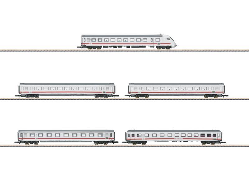 Märklin 87756 Vagnset Intercity DB Bimdzf, Bpmbzm Bpmz, ARkimbz, Avmz