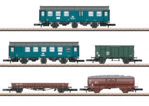 """Märklin 87761 Vagnset ( DB ) """" railroad maintenance """" Nyhet 2021 Förboka ditt exemplar"""