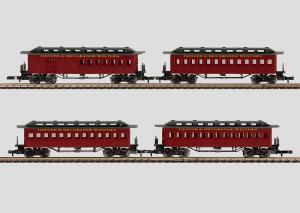 "87910 Vagnset ""American Old-Timers"" Denver & Rio Grande Western Railroad"