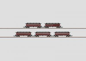 """87911 Personvagnset """"New York Central & Hudson River Rail"""" Nyhet 2013"""