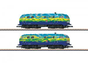 88789 Diesellok dubbelset BR 218 Touristik DB Nyhet 2016