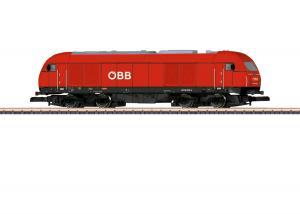Märklin 88880 Diesellok (ÖBB) class 2016 (Hercules) Nyhet 2020 Förboka ditt exemplar