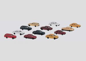 8904 Sats med personbilar i byggsats