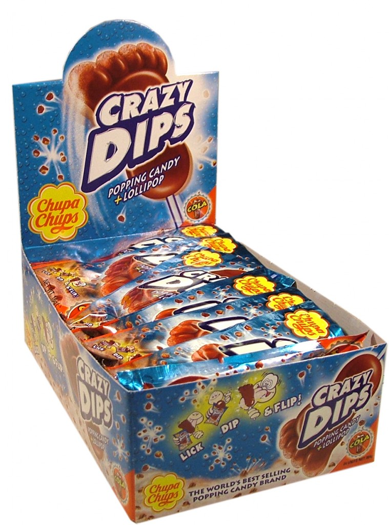 Crazy Dips Cola 24-p