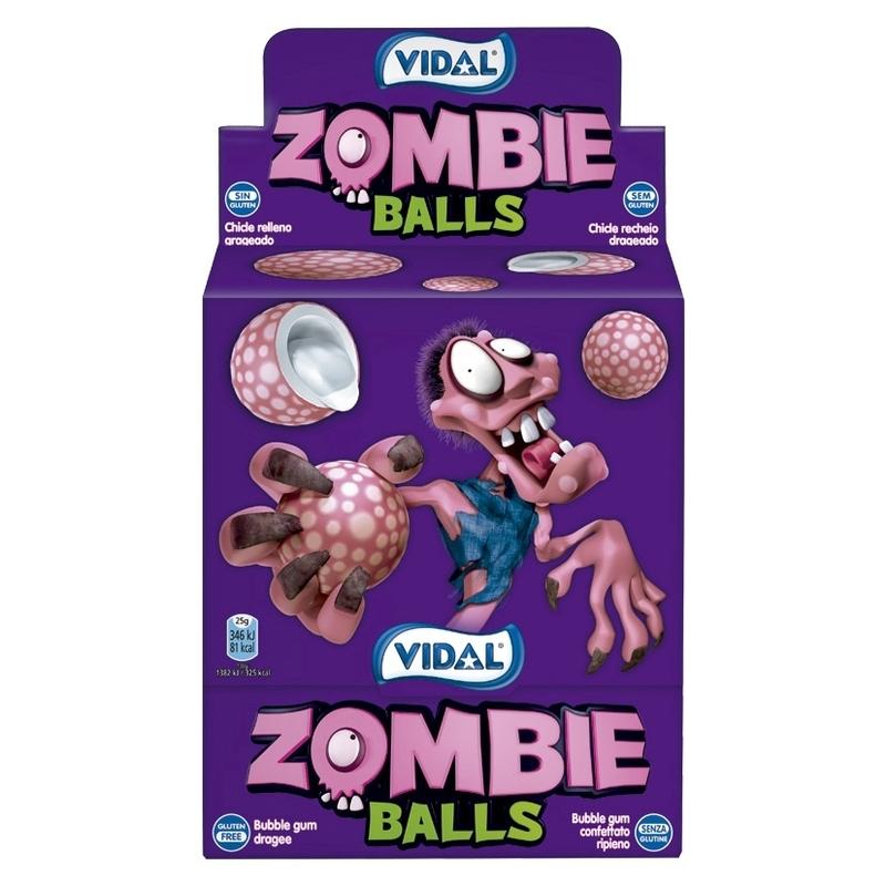 Zombie Balls Bubblegum 200-p