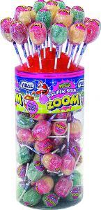 Zoom Lollies Super Sour 50-p