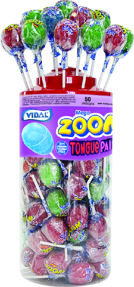 Zoom Lollies Tounge Painter 50-p
