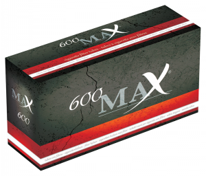 MAX Filter Tubes 600-pack 20-p
