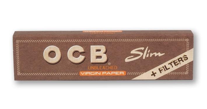 """OCB KS Slim +Tips """"Virgin"""" 32-p"""