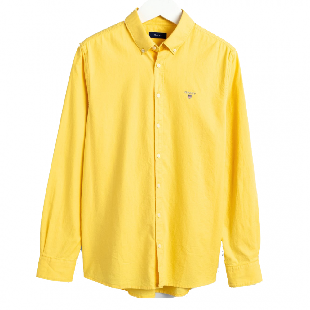 Gant Kids Archive Oxford Shirt Yellow