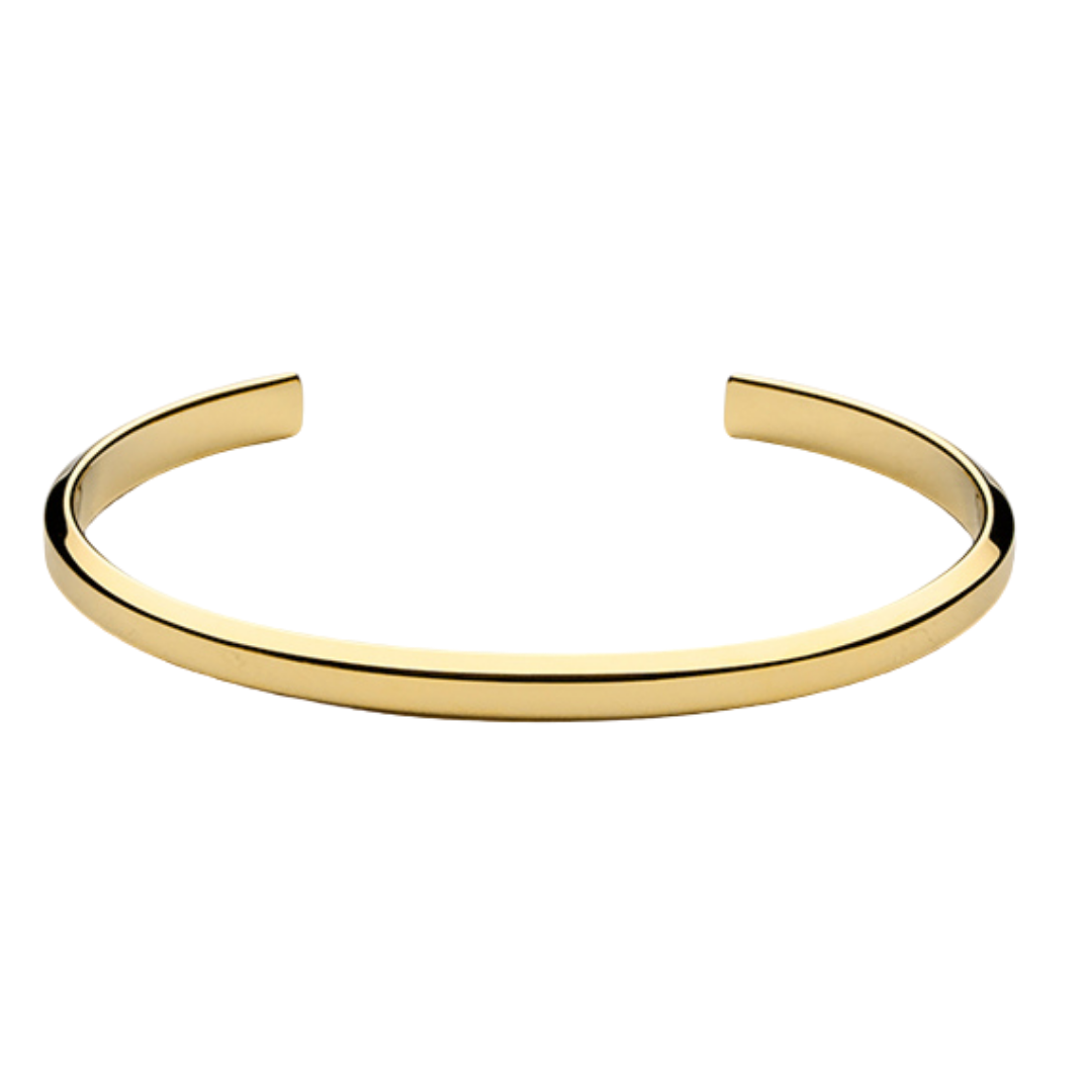 Icon Cuff Thin Gold Plated