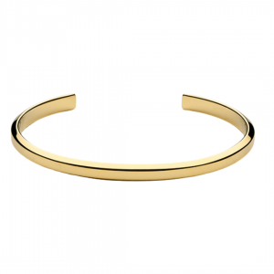 Icon Cuff Thin Gold Plated Bracelet