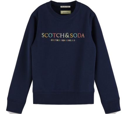 Logo Artwork Sweat Navy