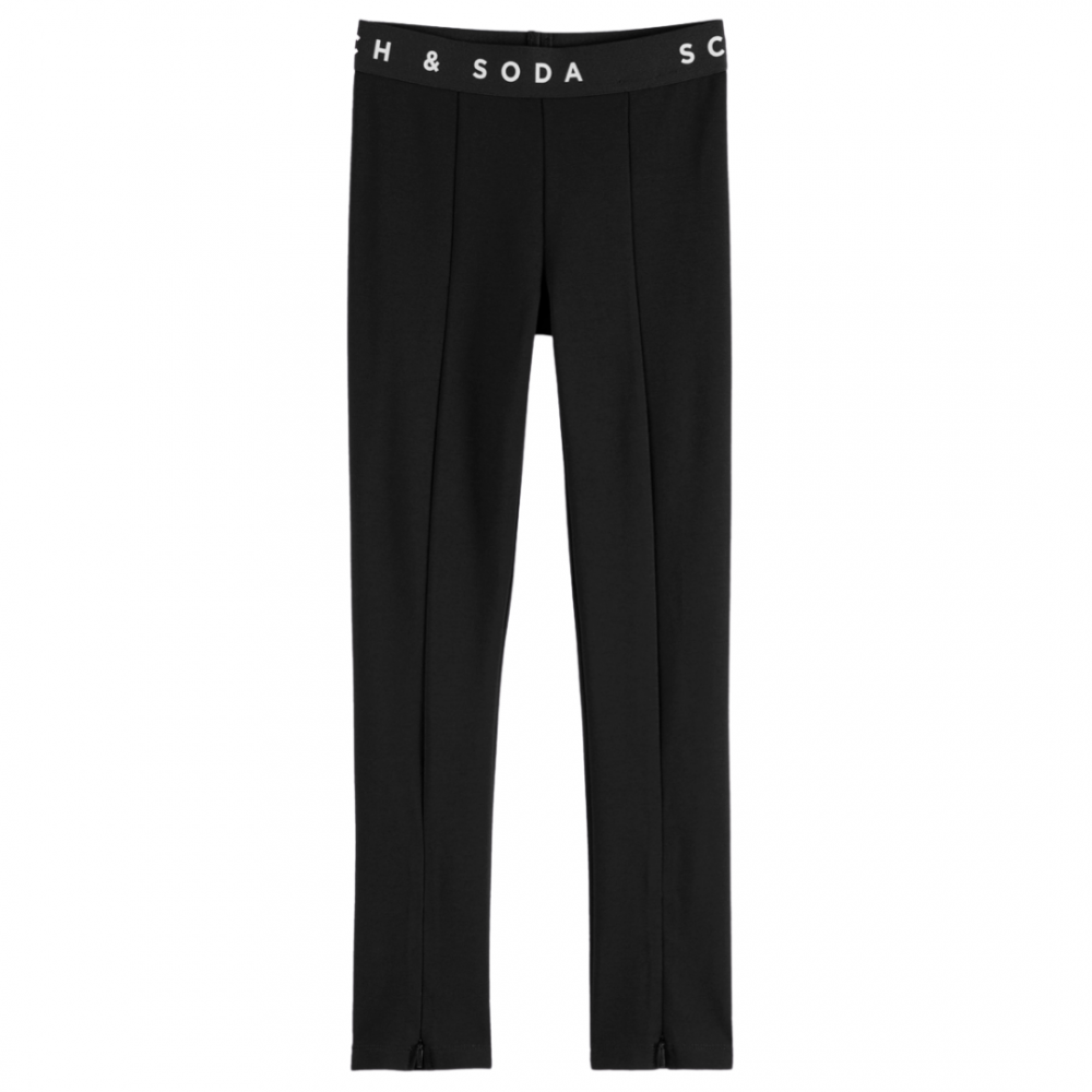 Club Nomade High Rise Sporty Skinny Pants Black